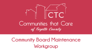 Community Board Maintenance Committee @ Fayette County Chamber