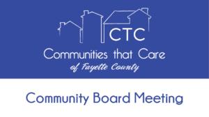 Community Board Meeting @ Online - Zoom Meeting
